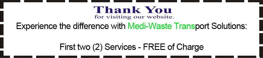 miami medical waste coupon