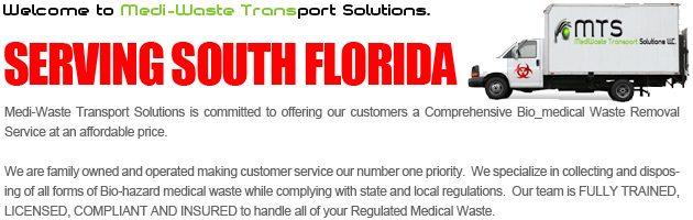 south florida number one medical waste